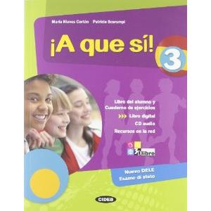 9796417 - !A QUE SI! - VOL. 3 + AUDIO CD + LIBRO DIGITAL