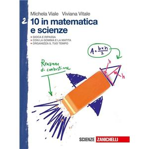 9940580 - 10 IN MATEMATICA E SCIENZE VOL  2 (LM).