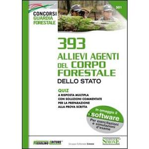 9927603 - 393 ALLIEVI AGENTI DEL CORPO FORESTALE -QUIZ