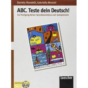 43556 - ABC DEUTSCH - TESTE DEIN DEUTSCH! + CD AUDIO