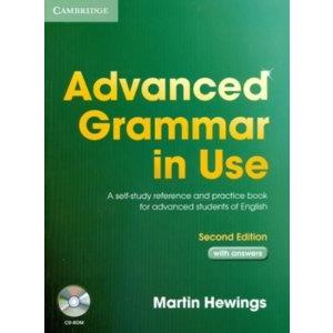 22832 - ADVANCED GRAMMAR IN USE. 2ND ED. WITH ANSWERS+CD-ROM