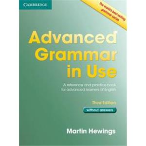 9957925 - ADVANCED GRAMMAR IN USE 3RD EDITION. BOOK WITHOUT ANSWERS