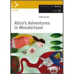 ALICE'S ADVENTURES IN WONDERLAND + CD AUDIO