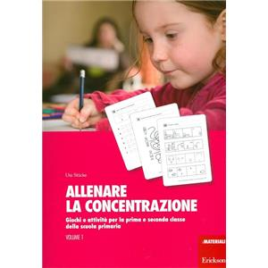 9923390 - ALLENARE LA CONCENTRAZIONE     VOL. 1  I MATERIALI