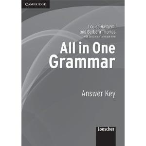 ALL IN ONE GRAMMAR - ANSWER KEY