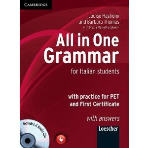 ALL IN ONE GRAMMAR + ANSWER KEY + AUDIO CD