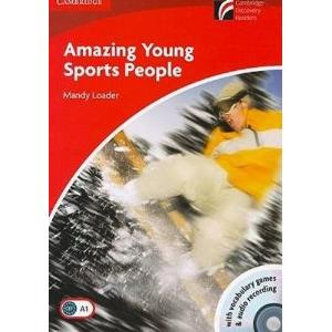 71706 - AMAZING YOUNG SPORTS PEOPLE + CD AUDIO