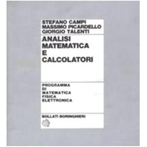 44820 - ANALISI MATEMATICA E CALCOLATORI