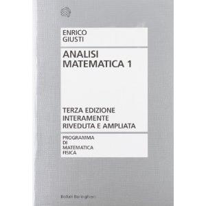 62649 - ANALISI MATEMATICA    VOL. 1