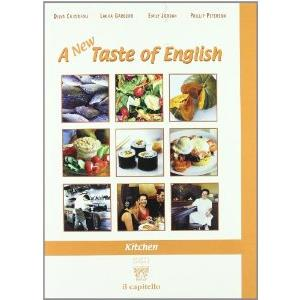12449 - A NEW TASTE OF ENGLISH - KITCHEN + CD AUDIO
