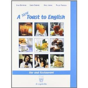 12450 - A NEW TOAST TO ENGLISH - BAR AND RESTAURANT + CD AUDIO