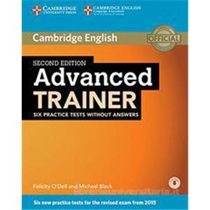 9936835 - Advanced trainer. Practice tests without answers. Con espansione online. Per le Scuole superiori