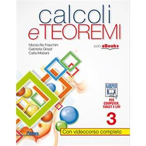 9931350 - CALCOLI E TEOREMI VOL.3