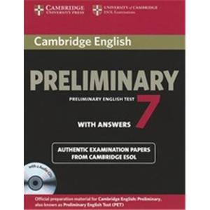 CAMBRIDGE ENGLISH. PRELIMINARY. LEVEL 7. STUDENT'S BOOK. WITH ANSWERS.