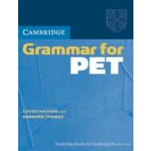 CAMBRIDGE GRAMMAR FOR PET WITHOUT ANSWER