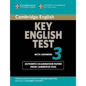 CAMBRIDGE KEY ENGLISH TEST - KET 3 WITH ANSWERS