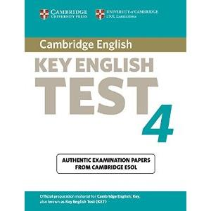 CAMBRIDGE KEY ENGLISH TEST - KET 4