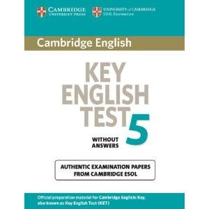 CAMBRIDGE KEY ENGLISH TEST - KET 5