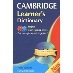 CAMBRIDGE LEARNER'S DICTIONARY + CD-ROM - 3ED.