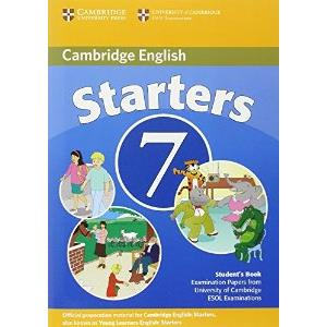 CAMBRIDGE YOUNG LEARNERS - ENGLISH TESTS - STARTERS 7 - 2ED.