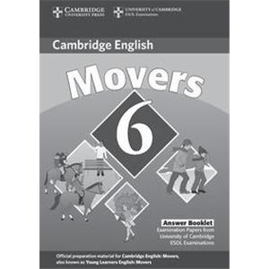 71691 - CAMBRIDGE YOUNG LEARNERS ENGLISH - MOVERS 6 - ANSWER BOOKLET - 2ED.