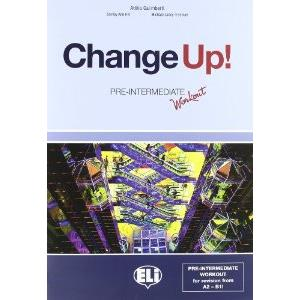 68782 - CHANGE UP! - INTERMEDIATE - SB + WB + CD AUDIO + WORKOUT