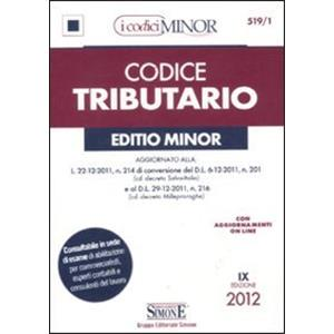 CODICE TRIBUTARIO - EDITIO MINOR 2012