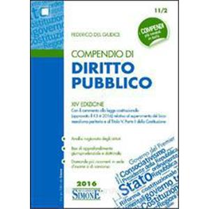 COMPENDIO DI DIRITTO PUBBLICO        ED. 2019    COD. 11/2