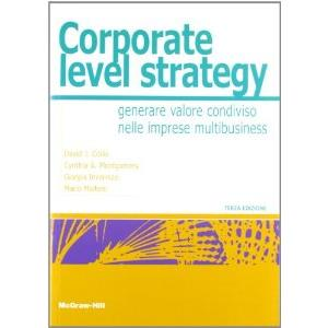 9903502 - CORPORATE LEVEL STRATEGY