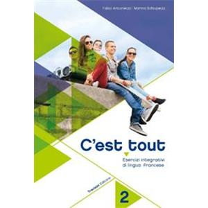 C'EST TOUT VOL. 2 + CD. ESERCIZI INTEGRATIVI DI LINGUA FRANCESE. PER LA SCUOLA MEDIA.   ( OPERA IN 2 VOLUMI )