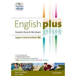 ENGLISH PLUS UPPER-INTEREMEDIATE + EBOOK. SB  &  WB + EBOOK