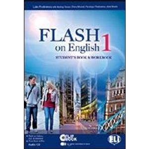 FLASH ON ENGLISH 1 VERSIONE MULTI. STUDENT'S BOOK & WORKBOOK 1 + AUDIO-CD + FLIP-BOOK 1