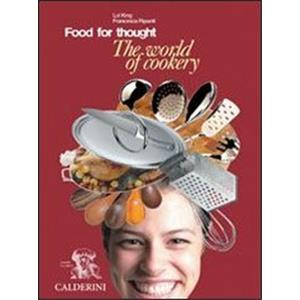 24497 - FOOD FOR THOUGHT - THE WORLD OF COOKERY + CD AUDIO