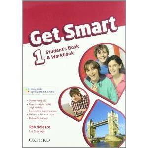 GET SMART 1  - MISTO STANDARD. SB & WB + WORKBOOK AUDIO CD + ESPANSIONI ONLINE