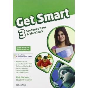 GET SMART 3 - MISTO STANDARD. SB & WB + WORKBOOK AUDIO CD + EXAM TRAINER + ESPANSIONI ONLINE