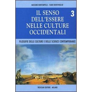 4162 - IL SENSO DELL'ESSERE NELLE CULTURE OCCIDENTALI - VOL 3