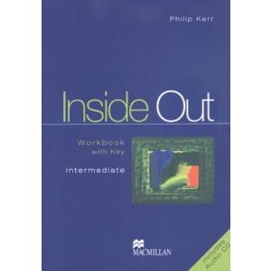 41866 - INSIDE OUT  INTERMEDIATE  WORK BOOK + KEY + CD