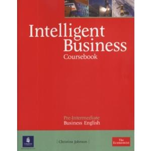 59832 - INTELLIGENT BUSINESS - PRE-INTERMEDIATE - COURSEBOOK