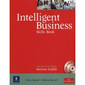 INTELLIGENT BUSINESS - PRE-INTERMEDIATE - SKILLS BOOK + CD ROM