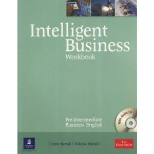 59833 - INTELLIGENT BUSINESS - PRE-INTERMEDIATE - WORKBOOK + CD AUDIO