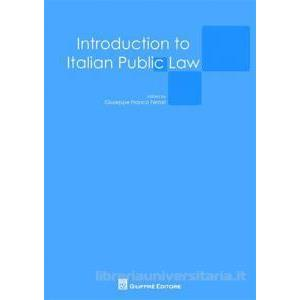 9959493 - INTRODUCTION TO ITALIAN PUBLIC LAW
