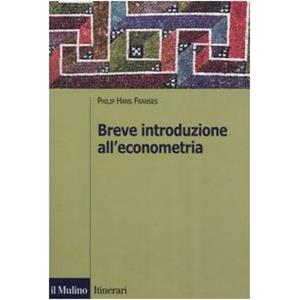 25724 - INTRODUZIONE ALL ECONOMETRIA
