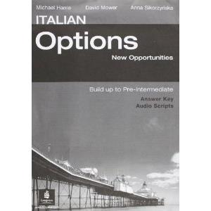 ITALIAN OPTION - NEW OPPORTUNITIES - PRE-INTERMEDIATE - KEY