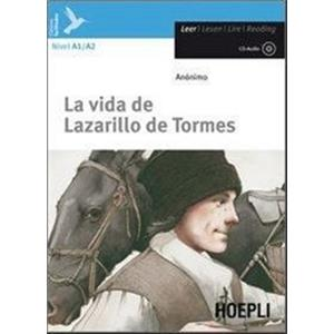 9797480 - LAZARILLO DE TORMES  Y DE SUS FORTUNAS Y ADVERSIDADES + CD AUDIO
