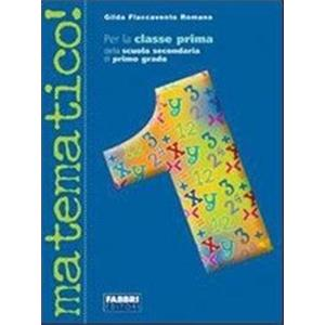 MATEMATICO! - VOL. 1 + GUIDA + INFORMATICA + CD ROM