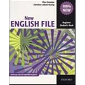 NEW ENGLISH FILE - BEGINNER - STUDENT'S BOOK