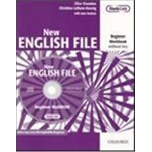 NEW ENGLISH FILE - BEGINNER - WORKBOOK S/C + MROM