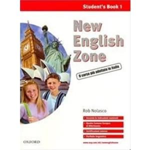 NEW ENGLISH ZONE - VOL. 1: STUD. MULTIM. PACK (SB1 + WB1 + PORTFOLIO + AUDIO CD 1 + CD-ROM)