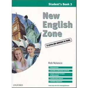 NEW ENGLISH ZONE - VOL. 3: STUDENT'S MULTIMEDIA PACK (SB 3 + WB 3 + AUDIO CD 3 + CD-ROM 3)