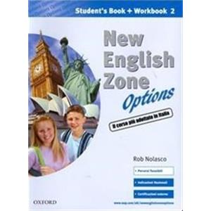 NEW ENGLISH ZONE OPTIONS - STUDENT'S MULTIMEDIA PACK 2